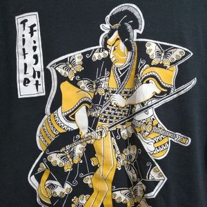 Title Fight Samurai Tee Shirt T-shirt Medium